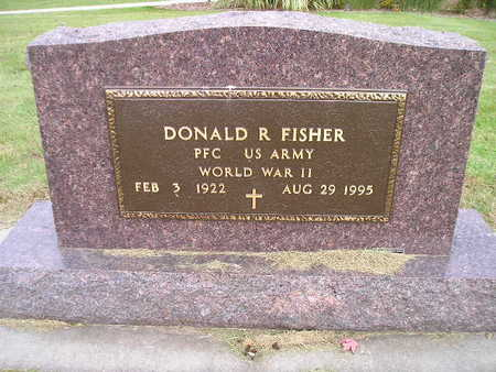 FISHER, DONALD R - Bremer County, Iowa | DONALD R FISHER