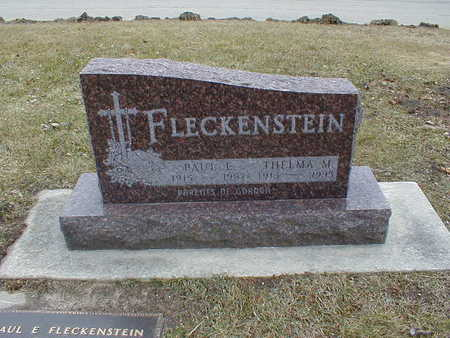 FLECKENSTEIN, PAUL E - Bremer County, Iowa | PAUL E FLECKENSTEIN