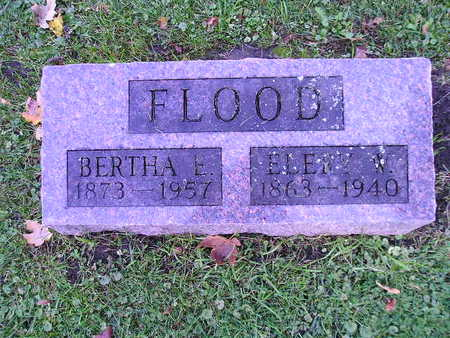 FLOOD, BERTHA E - Bremer County, Iowa | BERTHA E FLOOD