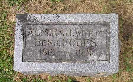 FOBES, ALMIRAH - Bremer County, Iowa | ALMIRAH FOBES