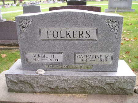 FOLKERS, CATHARINE M - Bremer County, Iowa | CATHARINE M FOLKERS