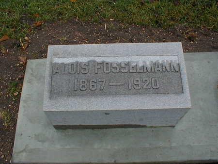 FOSSELMANN, ALOIS - Bremer County, Iowa | ALOIS FOSSELMANN