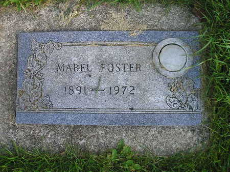 FOSTER, MABEL - Bremer County, Iowa | MABEL FOSTER
