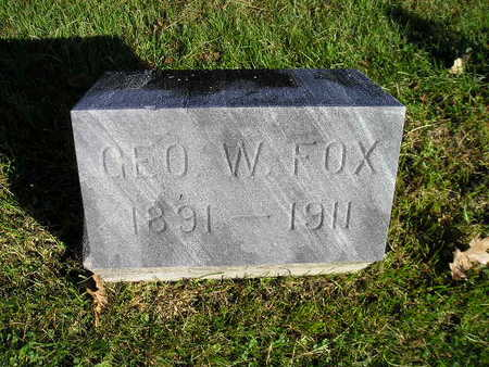 FOX, GEO W - Bremer County, Iowa | GEO W FOX