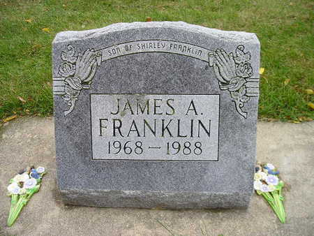 FRANKLIN, JAMES A - Bremer County, Iowa | JAMES A FRANKLIN