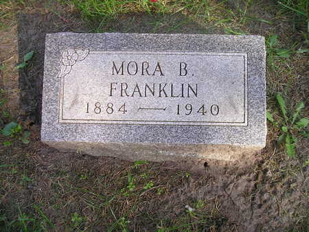 FRANKLIN, MORA B - Bremer County, Iowa | MORA B FRANKLIN