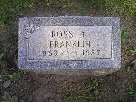 FRANKLIN, ROSS B - Bremer County, Iowa | ROSS B FRANKLIN