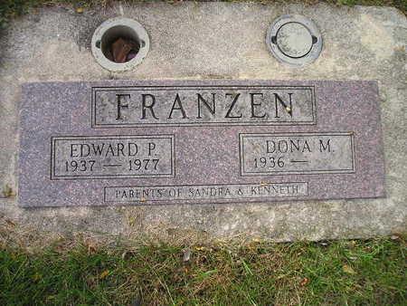 FRANZEN, DONA M - Bremer County, Iowa | DONA M FRANZEN