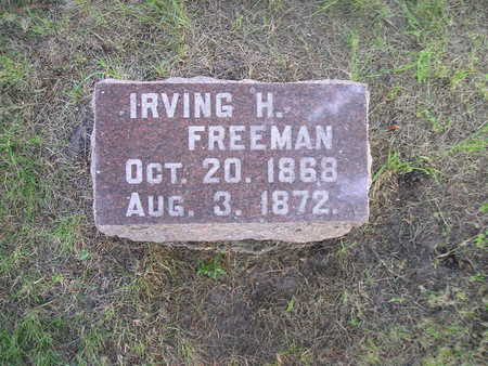 FREEMAN, IRVING H - Bremer County, Iowa | IRVING H FREEMAN