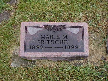 FRITSCHEL, MARIE M - Bremer County, Iowa | MARIE M FRITSCHEL