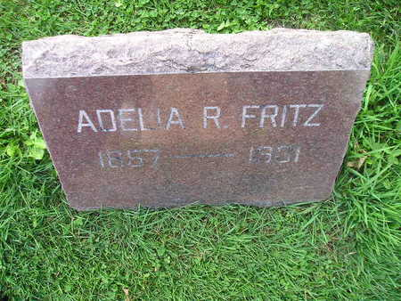 FRITZ, ADELIA R - Bremer County, Iowa   ADELIA R FRITZ