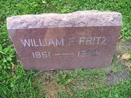 FRITZ, WILLIAM E - Bremer County, Iowa | WILLIAM E FRITZ