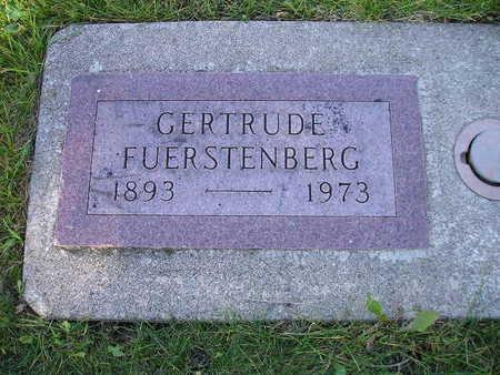 FUERSTENBERG, GERTRUDE - Bremer County, Iowa | GERTRUDE FUERSTENBERG