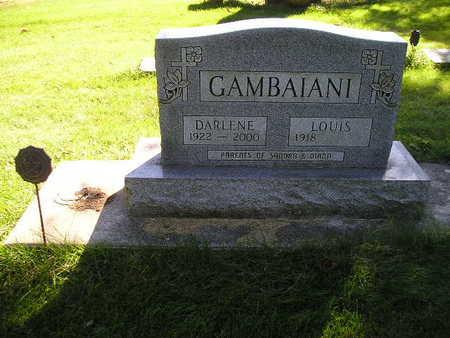 GAMBAIANI, DARLENE - Bremer County, Iowa | DARLENE GAMBAIANI