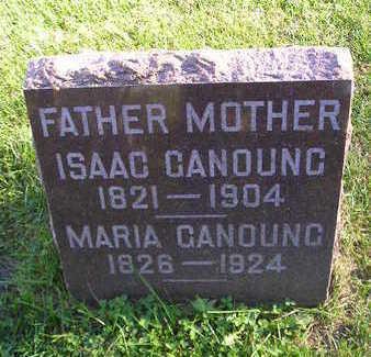 GANOUNG, ISAAC - Bremer County, Iowa | ISAAC GANOUNG