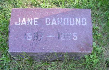 GANOUNG, JANE - Bremer County, Iowa | JANE GANOUNG