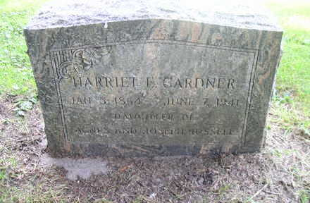 GARDNER, HARRIET E. - Bremer County, Iowa | HARRIET E. GARDNER