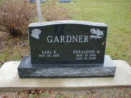 GARDNER, EARL R - Bremer County, Iowa | EARL R GARDNER