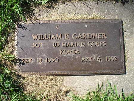 GARDNER, WILLIAM E - Bremer County, Iowa | WILLIAM E GARDNER
