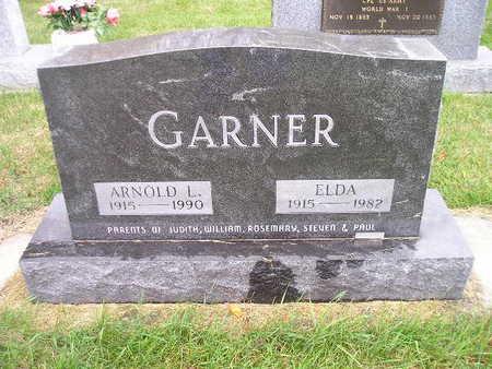 GARNER, ELDA - Bremer County, Iowa | ELDA GARNER
