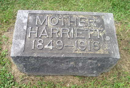 GARNER, HARRIETT - Bremer County, Iowa | HARRIETT GARNER