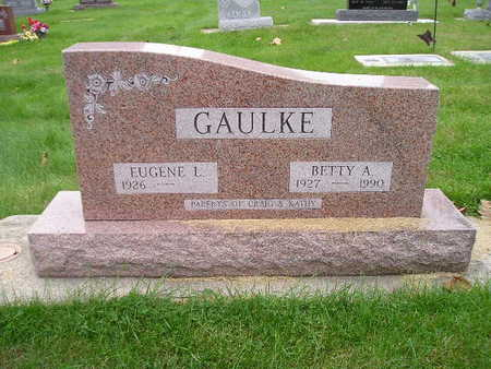 GAULKE, BETTY A - Bremer County, Iowa | BETTY A GAULKE