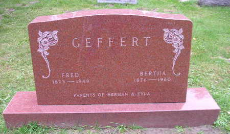 GEFFERT, FRED - Bremer County, Iowa | FRED GEFFERT