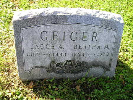GEIGER, JACOB A - Bremer County, Iowa | JACOB A GEIGER