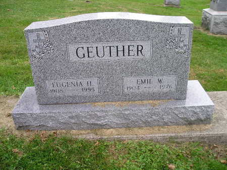 GEUTHER, EUGENIA H - Bremer County, Iowa | EUGENIA H GEUTHER
