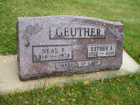 GEUTHER, NEAL F - Bremer County, Iowa | NEAL F GEUTHER