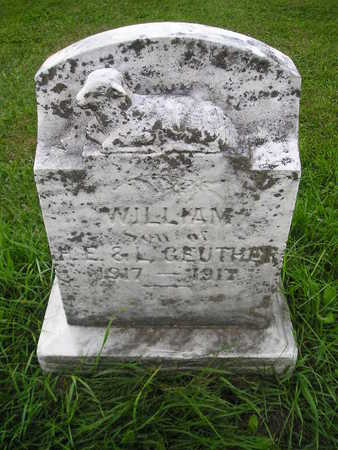 GEUTHER, WILLIAM - Bremer County, Iowa | WILLIAM GEUTHER