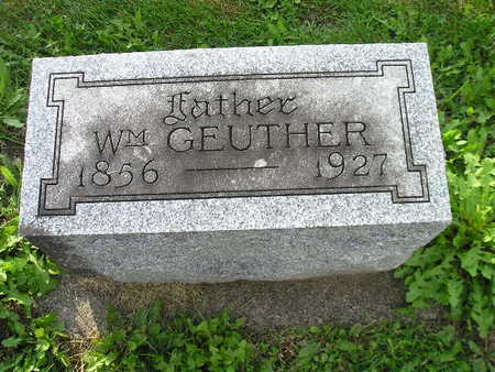 GEUTHER, WM - Bremer County, Iowa | WM GEUTHER