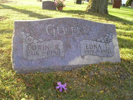 GEWEKE, EDWIN R - Bremer County, Iowa | EDWIN R GEWEKE