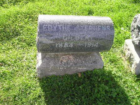 STEPHENS GILBERT, EDYTHE - Bremer County, Iowa | EDYTHE STEPHENS GILBERT