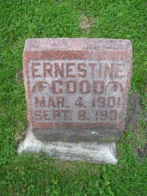 GOOD, ERNESTINE - Bremer County, Iowa | ERNESTINE GOOD