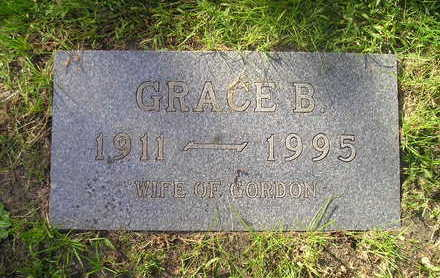 GOODSPEED, GRACE B. - Bremer County, Iowa | GRACE B. GOODSPEED