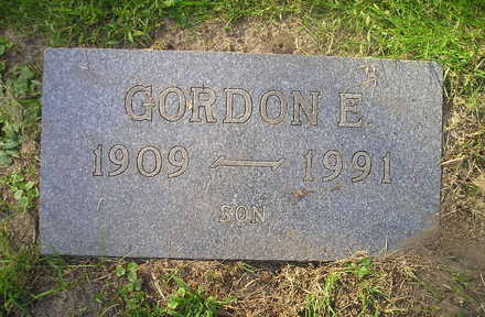 GOODSPEED, GORDON E. - Bremer County, Iowa | GORDON E. GOODSPEED
