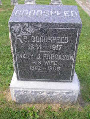FURGASON GOODSPEED, MARY J - Bremer County, Iowa | MARY J FURGASON GOODSPEED
