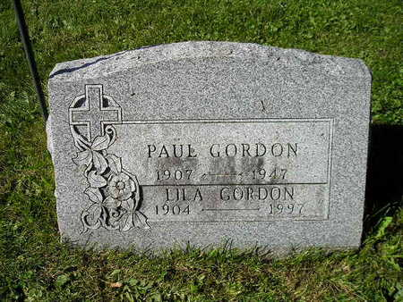 GORDON, PAUL - Bremer County, Iowa | PAUL GORDON