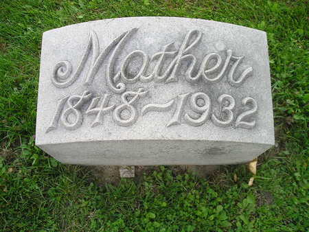 GORS, MOTHER (MAE) - Bremer County, Iowa | MOTHER (MAE) GORS
