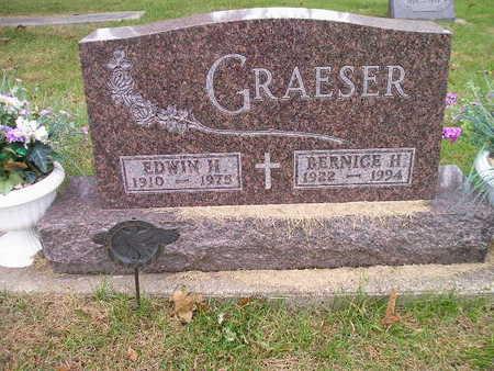 GRAESER, EDWIN H - Bremer County, Iowa | EDWIN H GRAESER