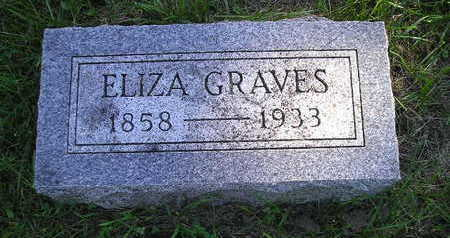 GRAVES, ELIZA - Bremer County, Iowa | ELIZA GRAVES