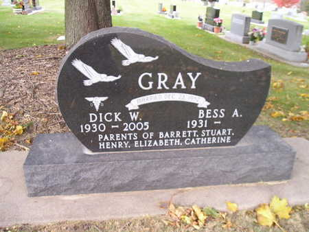 GRAY, DICK W - Bremer County, Iowa | DICK W GRAY