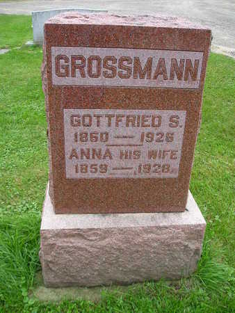 GROSSMAN, GOTTFRIED S - Bremer County, Iowa | GOTTFRIED S GROSSMAN