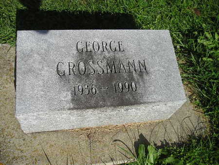 GROSSMANN, GEORGE - Bremer County, Iowa | GEORGE GROSSMANN