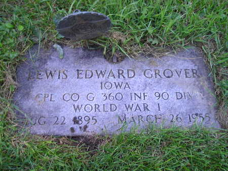GROVER, LEWIS EDWARD - Bremer County, Iowa | LEWIS EDWARD GROVER