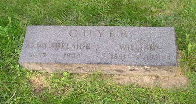 GUYER, WILLIAM - Bremer County, Iowa | WILLIAM GUYER