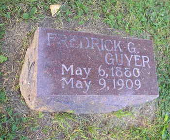 GUYER, FREDERICK G - Bremer County, Iowa | FREDERICK G GUYER