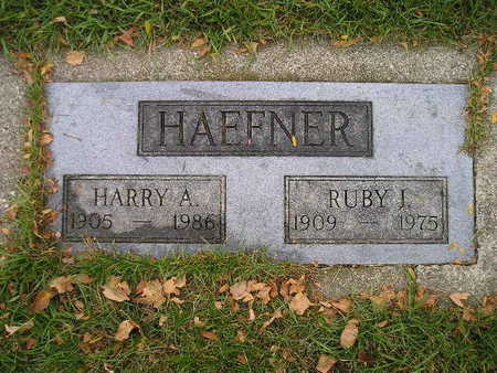 HAEFNER, RUBY I - Bremer County, Iowa | RUBY I HAEFNER