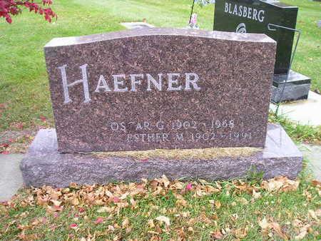 HAEFNER, OSCAR G - Bremer County, Iowa | OSCAR G HAEFNER